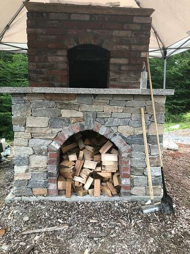 How To Build A Wood Fired Pizza Oven (60)