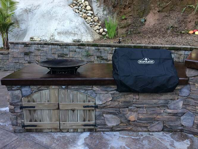 Pizza Oven Over Fireplace (27)