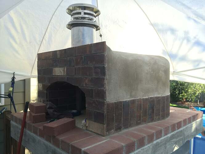 Home Made Pizza Oven (33)