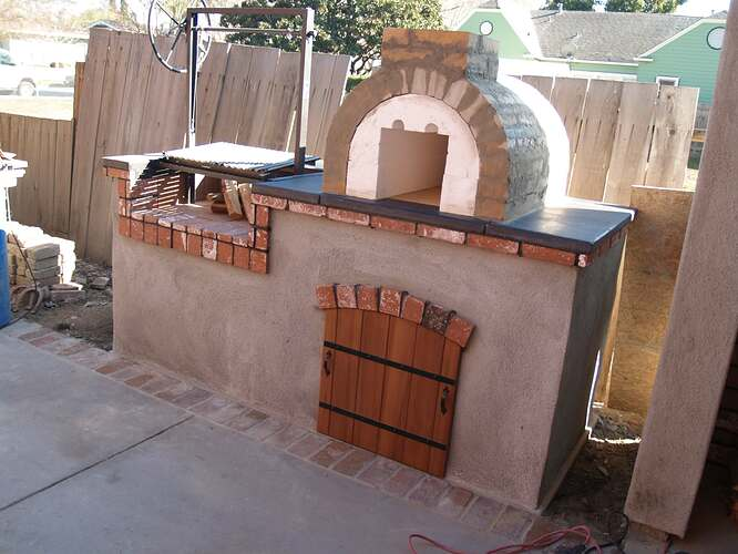 How To Build a Brick BBQ and Pizza Oven (15)