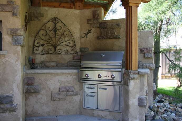 Wood Fired Pizza Oven and BBQ (9)