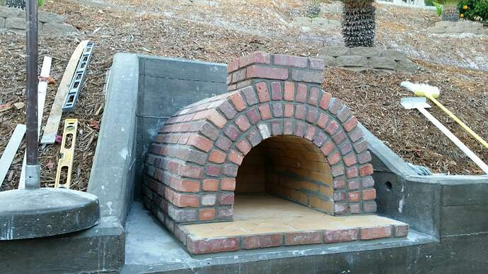 Built In Pizza Oven (5)