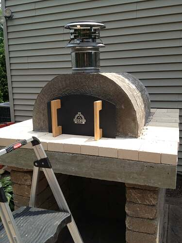 How To Build An Outdoor Brick Oven (66)