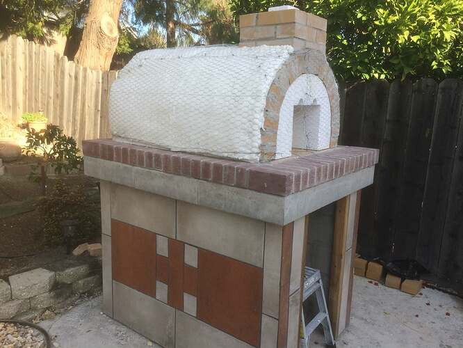 How To Make A Garden Pizza Oven (13)