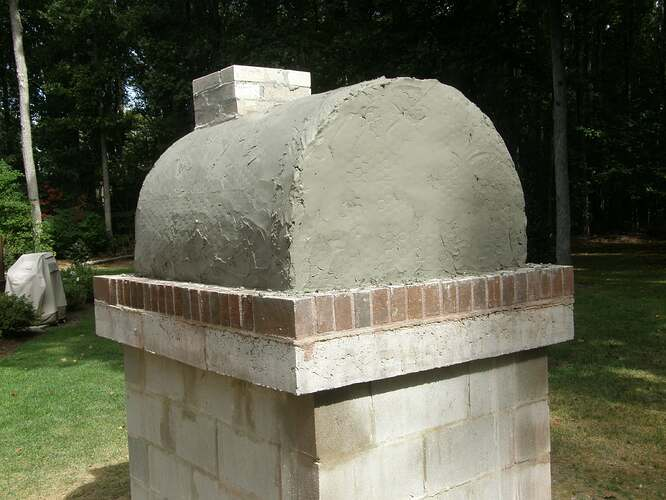 How To Make An Outdoor Pizza Oven (44)