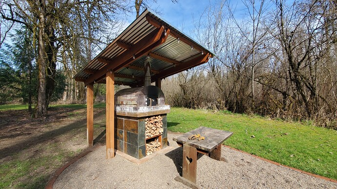 Outdoor Wood Burning Pizza Oven (29)
