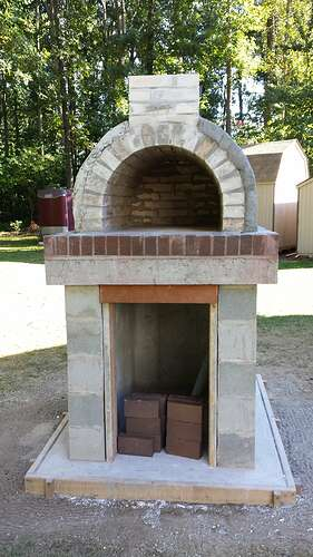 How To Make An Outdoor Pizza Oven (52)