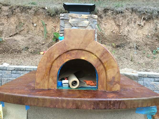 Pizza Oven Over Fireplace (24)