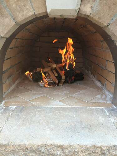 Making An Outdoor Pizza Oven (32)