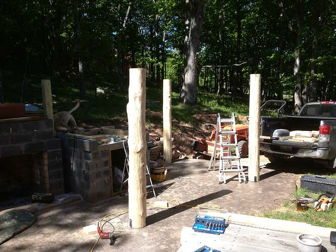 Outdoor Fireplace and Seating (7)