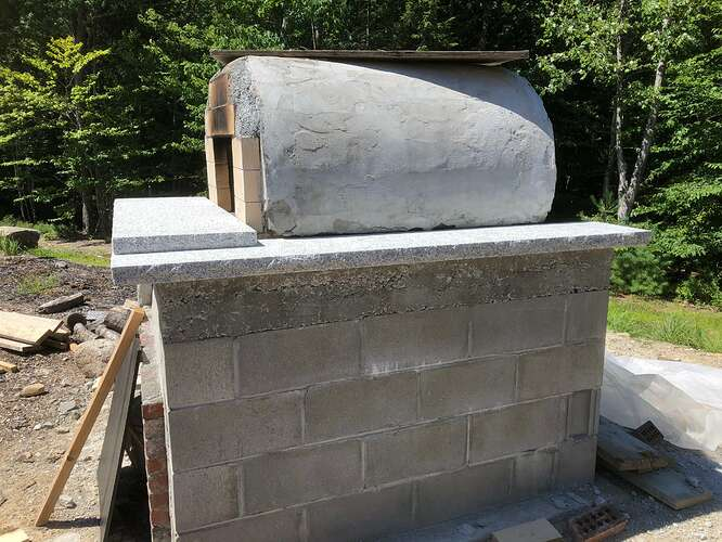 How To Build A Wood Fired Pizza Oven (62)
