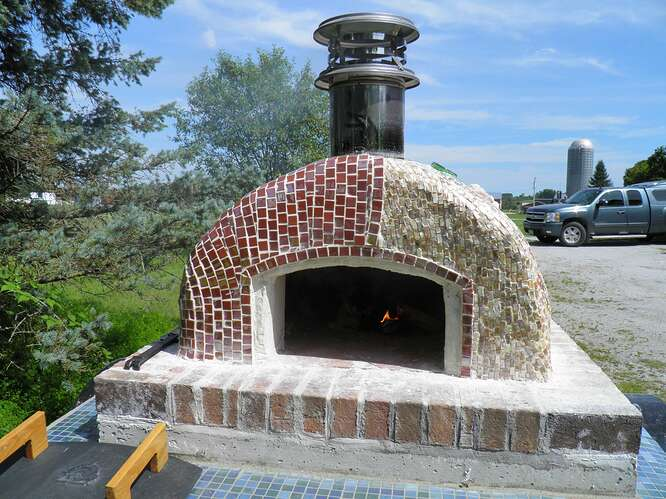 Portable Wood Fired Pizza Oven (15)
