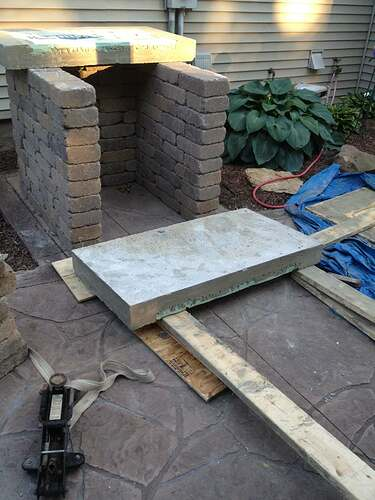 How To Build An Outdoor Brick Oven (48)