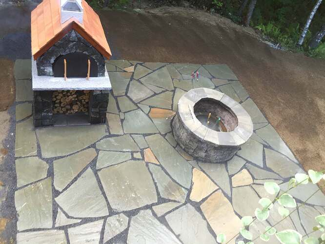 How To Make An Outdoor Brick Oven (7)