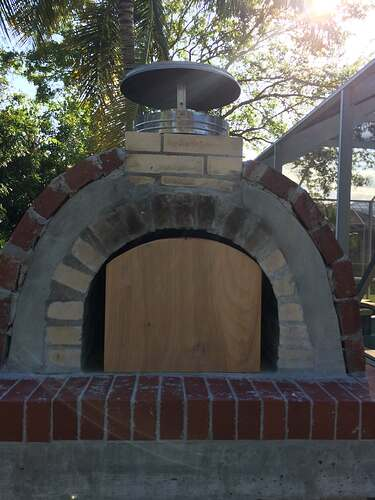 Building An Outdoor Oven (15)