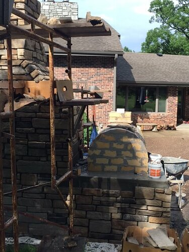 Outdoor Stone Fireplace (1)