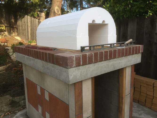 How To Make A Garden Pizza Oven (10)