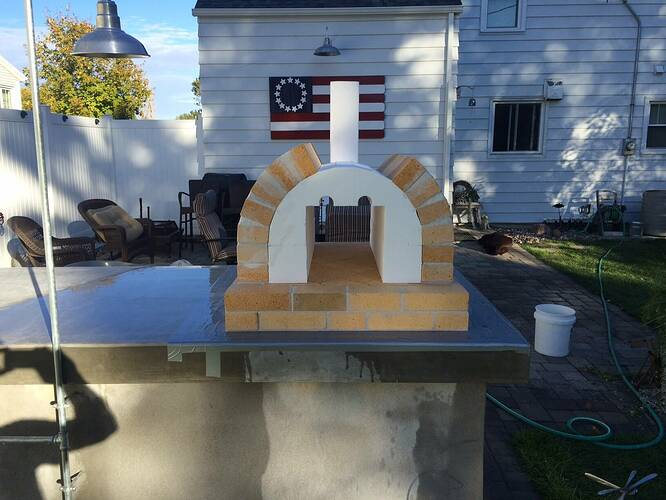 Building A Brick Pizza Oven From Scratch (47)