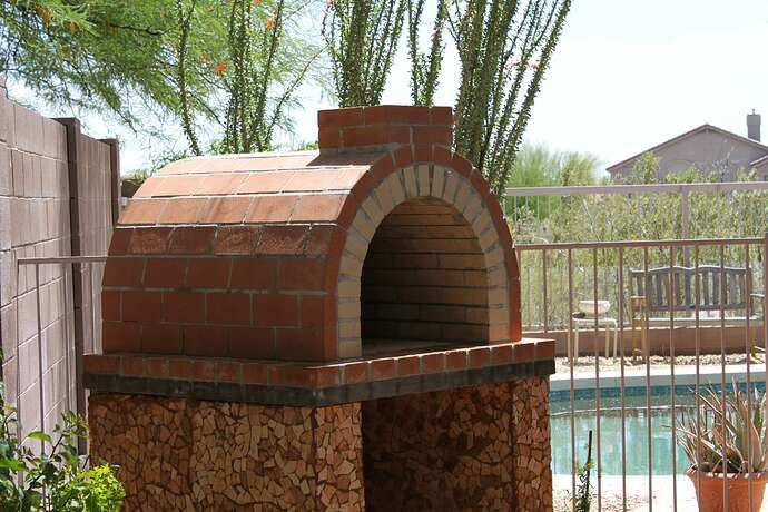 How To Build a Wood Fired Brick Oven (8)