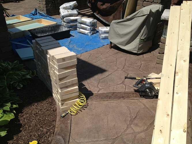 How To Build An Outdoor Brick Oven (22)