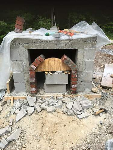 How To Build A Wood Fired Pizza Oven (28)