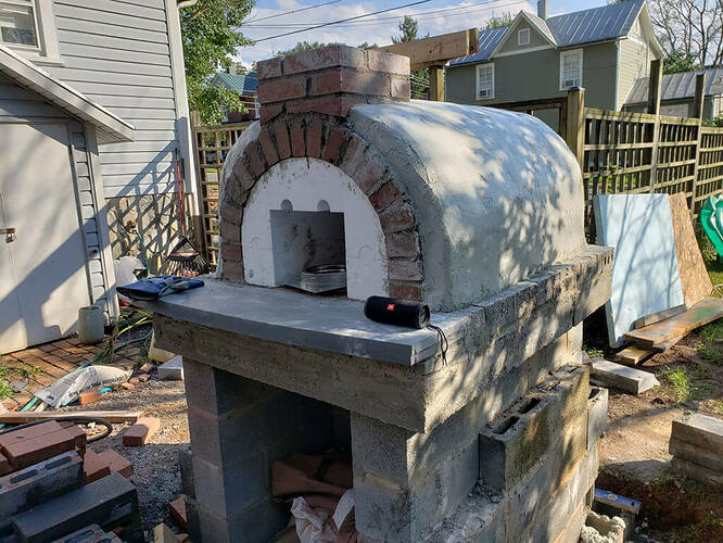 How To Build a Stone Pizza Oven (9)