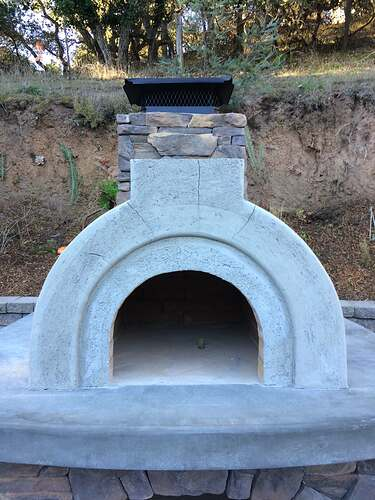 Pizza Oven Over Fireplace (23)