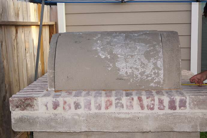 Refractory Cement Pizza Oven (84)