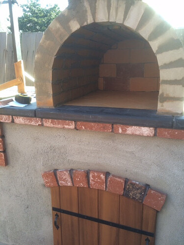 How To Build a Brick BBQ and Pizza Oven (17)