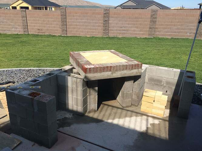 How To Build A Wood Fired Oven (17)