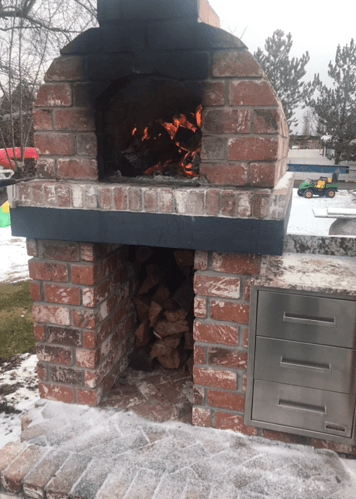 Pizza Oven Fireplace Combo (18)