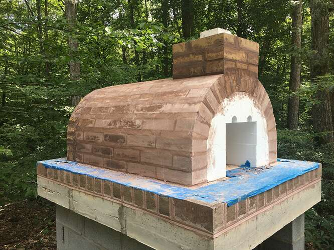 Wood Fired Brick Oven (49)