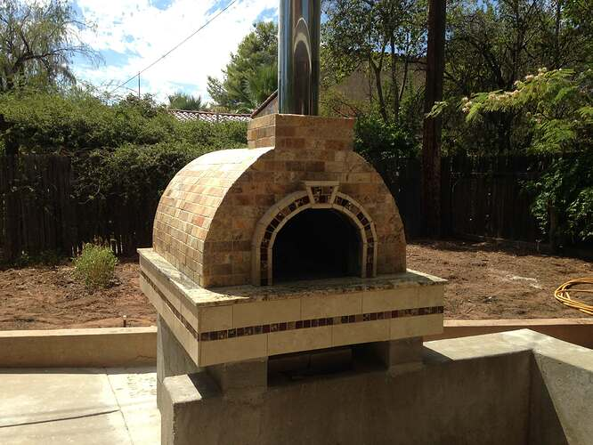 Italian Wood Fired Pizza Oven (9)