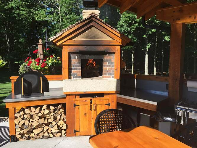 Outdoor Brick Oven And Grill (6)