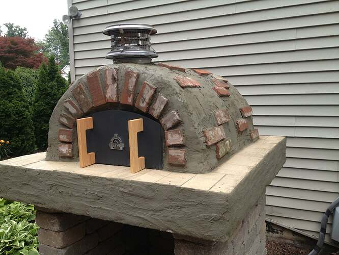 How To Build An Outdoor Brick Oven (86)