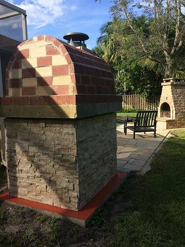 Building An Outdoor Oven (21)