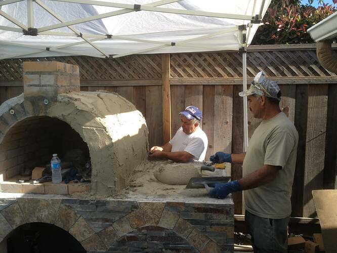 Outdoor Gas Pizza Oven (40)