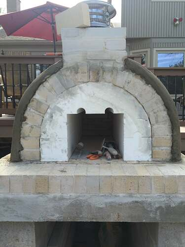 Simple Outdoor Oven (20)