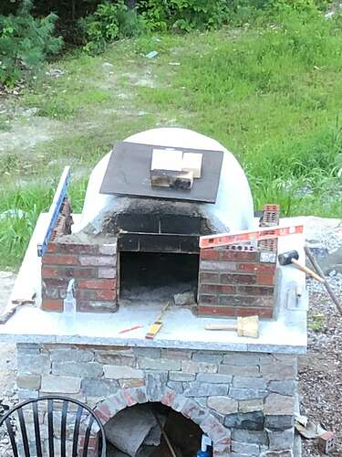 How To Build A Wood Fired Pizza Oven (67)