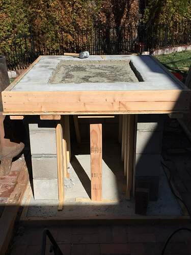 Homemade Outdoor Pizza Oven (19)