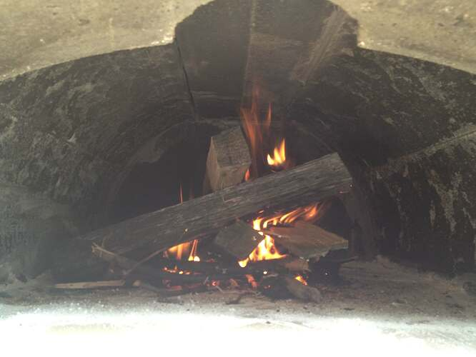 How To Build An Outdoor Brick Oven (79)