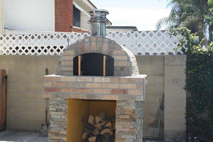 Outdoor Grill With Oven (35)