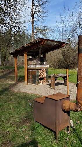 Outdoor Wood Burning Pizza Oven (28)