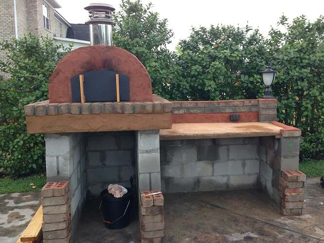 Build A BBQ And Pizza Oven (21)
