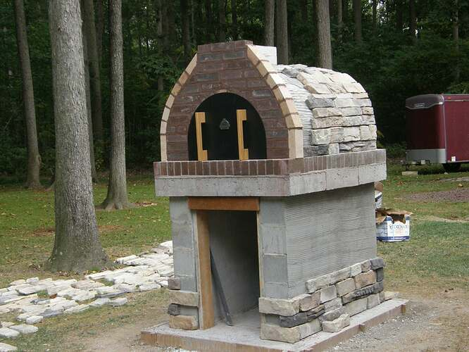 How To Make An Outdoor Pizza Oven (62)