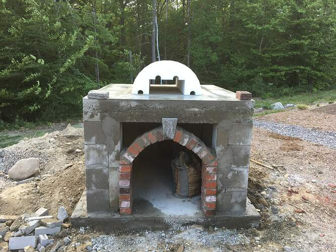 How To Build A Wood Fired Pizza Oven (32)