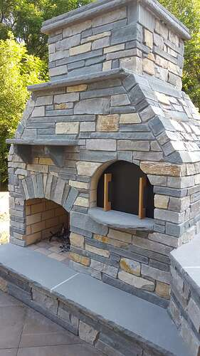 Outdoor Fireplace Plans (8)