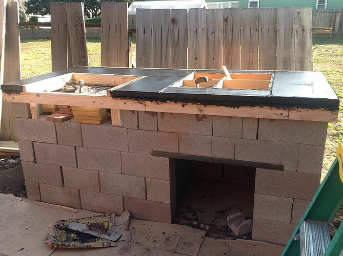 How To Build a Brick BBQ and Pizza Oven (3)