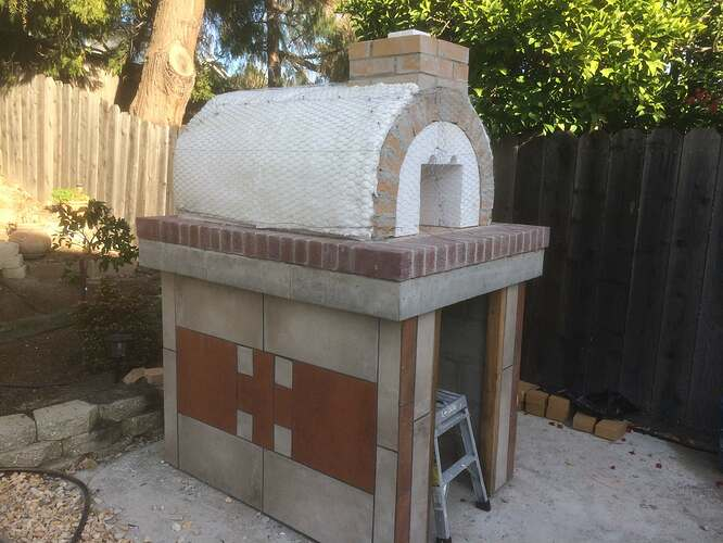 How To Make A Garden Pizza Oven (14)