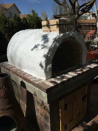 Homemade Outdoor Pizza Oven (33)